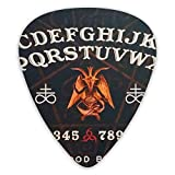 NiYoung Ouija Board Augury Witch Guitar Plectrum Picks for Acoustic Guitar, Electric Guitar, Mandolin, and Bass
