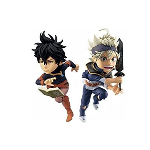 XYZLEO Figurine d'anime Black Clover Figurine à Collectionner décoration Art Cadeau Jeux Anime Art Statues Animation Personnage modèle