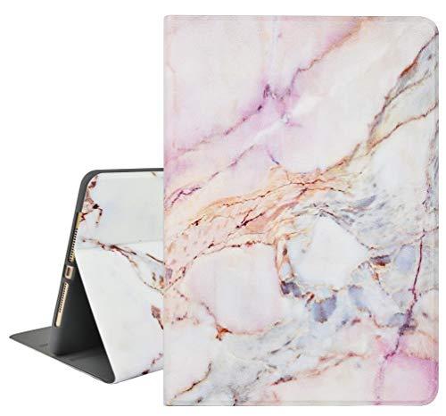 KECC Custodia Nuovo iPad Pro 11''(2020,2a generazione) Custodia protettiva intelligente con portamatite + angoli di visualizzazione multipli + funzione Auto Sleep/Wake(Marmo bianco 4)