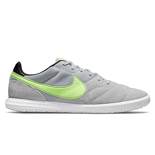 Nike Premier II Sala (IC), Scarpe da Football Uomo, Lt Smoke Grey Ghost Green White, 40 EU