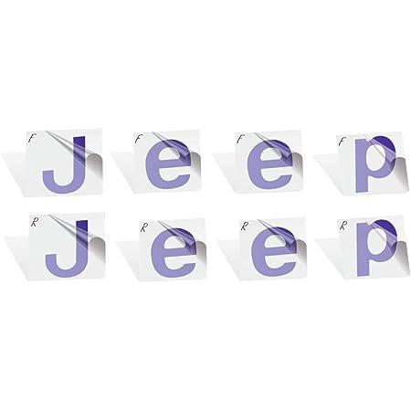 blaue Koralle 2020 vorne und hinten Emblem f/ür vorne und hinten IPG Aufkleber f/ür Jeep Renegade 2015 Emblem Aufkleber-Set Do it Yourself personalisieren Sie Ihre Renegade
