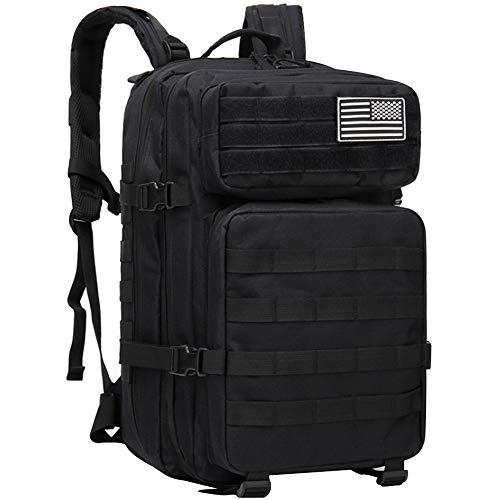 Bolsa exterior para hombres EUATEO, bolsa para el desierto, tácticas militares, bolsa de asalto, mochila, chaqueta exterior, bolsa de camping, camping,...
