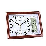 zlw-shop Decorativo Reloj Sala de Estar Dormitorio Reloj Pan