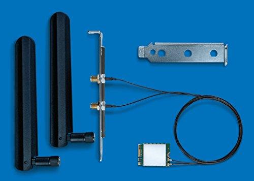 Intel Dual Band Wireless AC 8265 Desktop Kit WLAN / Bluetooth 867 Mbit/s Eingebaut, Netzwerkkarten (Eingebaut, Kabellos, M.2, WLAN / Bluetooth, Wi-Fi 5 (802.11ac), 867 Mbit/s)