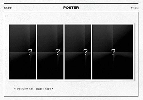 2nd Album Monsta X [II ver.] TAKE.1 ARE YOU THERE ? Music CD + Official Poster+ Photo Book + 2Photo Cards + Store Gift