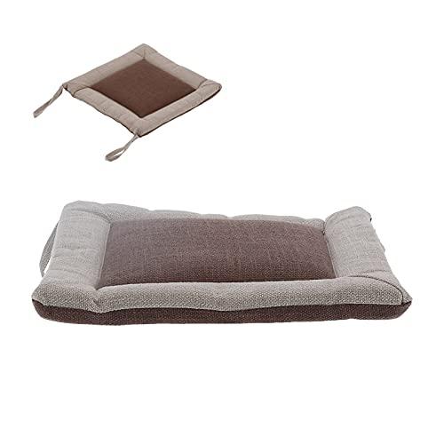 Almofada para cadeira, almofada para as costas macia multifunções respirável almofada para assento portátil Almofada com alças para carro para piquenique para escritório para acampamento