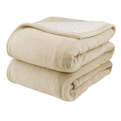 Biddeford 2064-9052140-702 MicroPlush Sherpa Electric Heated...