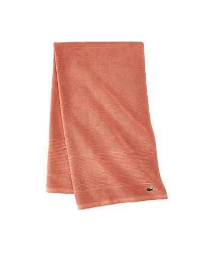 Lacoste Legend 100% Supima Cotton Towel, 650 GSM, 30' W x 54' L Bath, Adobe