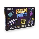 Famosa – Escape Party, juego de Escape Room muy completo, con posibilidades de juego diferentes para jugar muchas veces, hasta 500 preguntas, acertijos y adivinanzas, a partir de 10 años, (700016895)