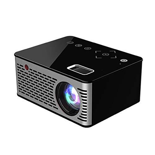 HD Mini proyector, Mini proyector Portable, proyector casero HD para Cine en casa Entretenimiento Game Party