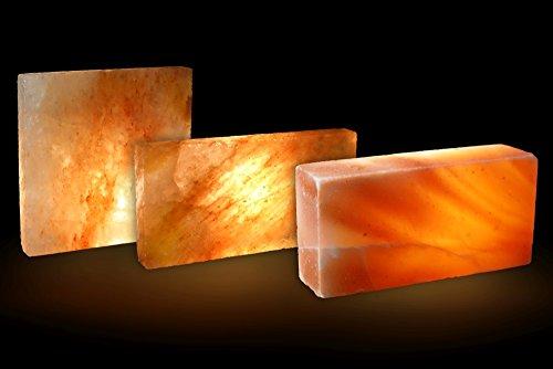 5x Salzziegel Salzfliese 20x 10 x 2,5 cm Himalaya* Salz (aus der Salt Range Pakistan)