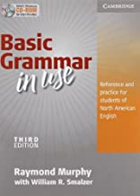 Basic Grammar in Use Student's Book without Answers and CD-ROM: Reference and Practice for Students of North American English by Murphy, Raymond (September 20, 2010) Paperback