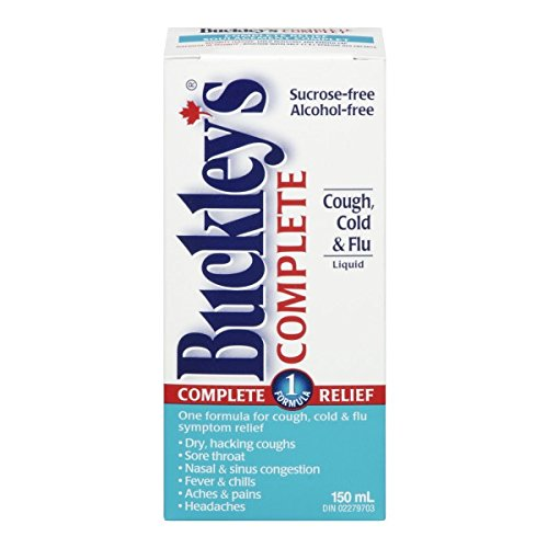 Buckley's Original complete syrup; 150 ml Size