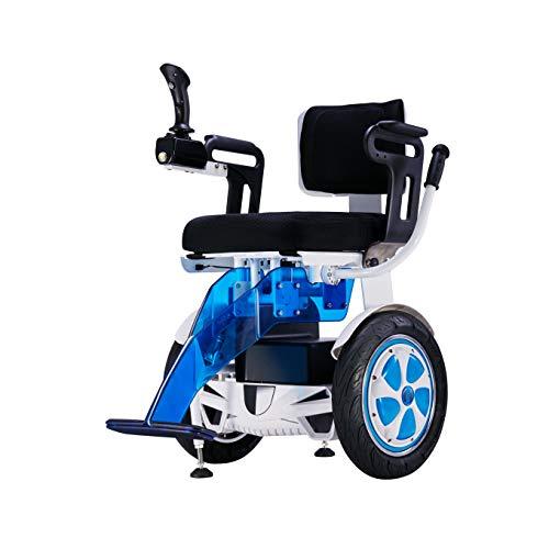 Obbocare | Silla de ruedas eléctrica Airwheel A6 ligera y todoterreno dirigida con el propio cuerpo a través del autoequilibrio. Versión joystick