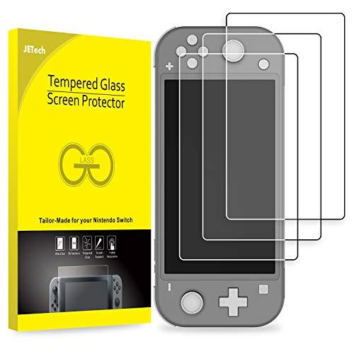 JETech Schutzfolie Kompatibel mit Nintendo Switch Lite 2019, Gehärtetem Glas Displayschutzfolie, 3 Stück