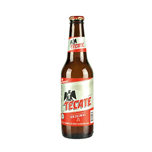 10 Flaschen Cerveza TECATE, 4,5% vol Bier aus Mexiko