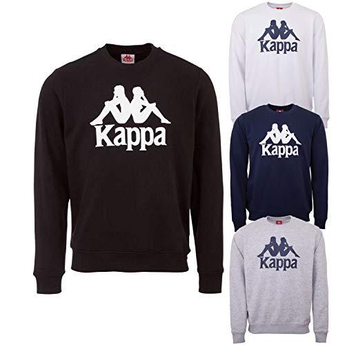 Kappa 703797-19-4006_s Maglia di Tuta, Nero, S Uomo