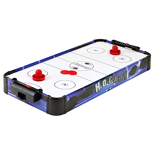 Purchase Blue Line 32-in Portable Table Top Air Hockey for Kids, Blue/White