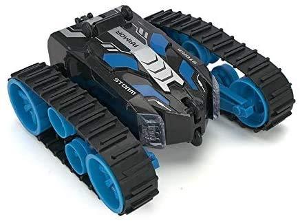 Darenbp RC Car Stunt Buggy Car 2.4G Rollo de rastrero Control remoto Car 360 Rotación Rotación Vehículo Vehículo Carrera eléctrica Coche de alta velocidad para niños y adultos Niños Niños Niños Regalo