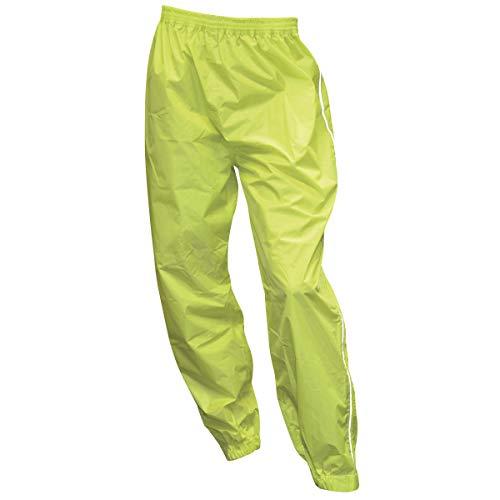 Oxford Pantaloni Antipioggia Giallo neon, Tg.6Xl