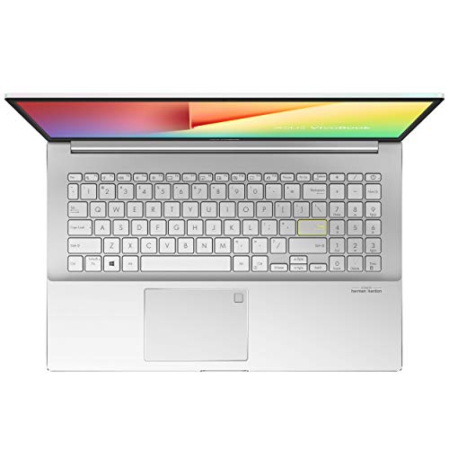 ASUS VivoBook S15 S533FA (90NB0LE4-M00230) 39,6 cm (15,6 Zoll, Full HD, WV, matt) Notebook (Intel Core i5-10210U, Intel UHD-Grafik 620, 8GB RAM, 512GB SSD, Windows 10) dreamy white