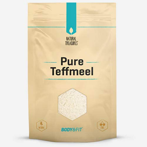 Body & fit Superfoods Pure Teff Farine naturelle 500 g