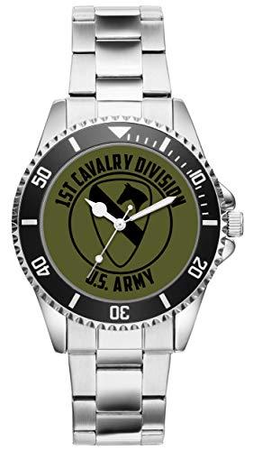 KIESENBERG - Geschenk US Army Veteran Military Soldat 1st Cavalry Division Uhr 6512