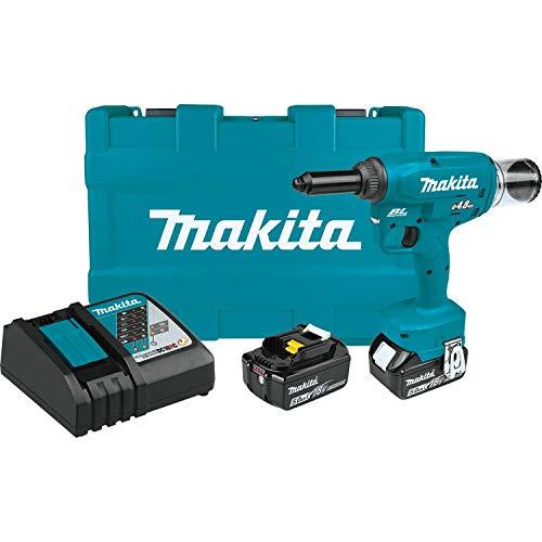 Makita XVR01T Brushless Cordless Rivet Tool Kit