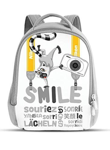 Nikon Frankreich S33Rucksack Weiß