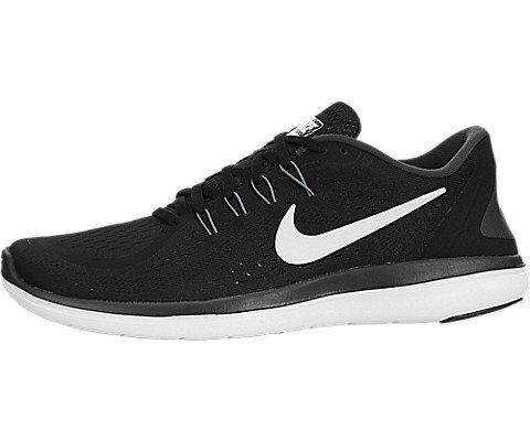Nike Mens Flex 2017 RN Running Shoes Black/White/Anthracite/Cool Grey 9 D(M) US