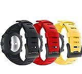 yayuu cinturino suunto core cinturino braccialetto di ricambio in silicone sportivo unisex per suunto core smart watch
