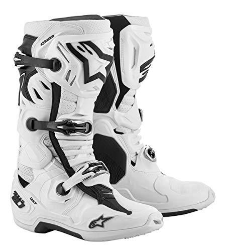Alpinestars Herren 2010520-20-12 Tech 10 Supervented Stiefel, Weiß, Größe 46, Multi, 12