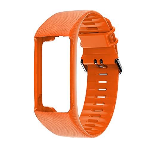 Supefriendly Correa de repuesto de silicona para reloj inteligente Polar A360 A370