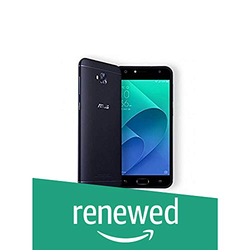 (Renewed) Asus Zenfone 4 Selfie DC ZD553KL (Black, 4GB +64GB)