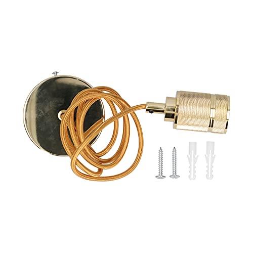 Soporte de lámpara, accesorios de enchufe Soporte de lámpara retro para bombilla de araña E27 para sala de estar en casa