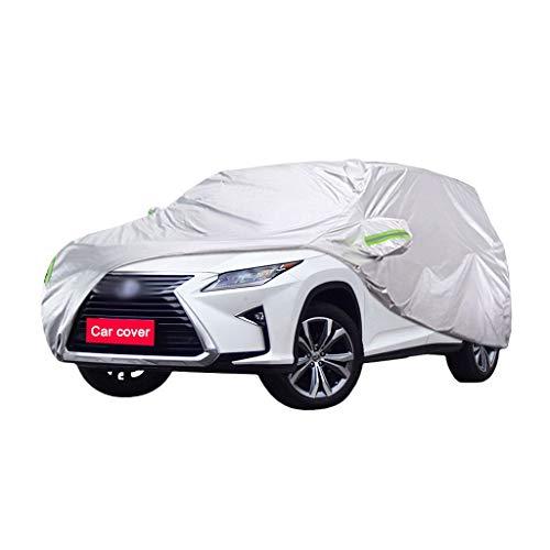 Couverture de voiture Compatible avec Lexus RX Car Cover SUV épais Tissu Oxford Protection contre le soleil chaud antipluie Car Cover Couverture (Size : RX200T)