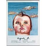 ポスター ダイアン シャネル Bebe Cruel (agnis b) 限定1000枚 額装品 アルミ製ハイグレードフレーム(シルバー)