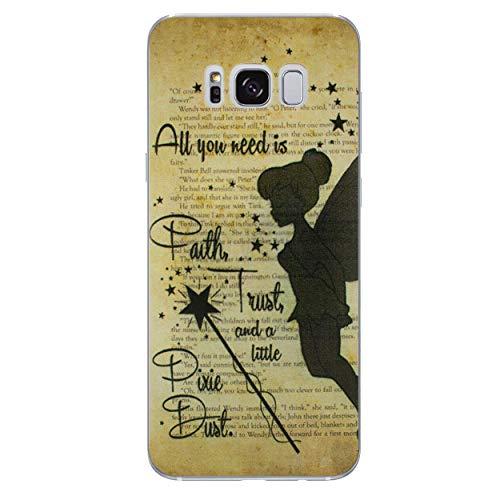 iCHOOSE Peter Pan gelbehuizing voor smartphone Samsung Galaxy S8 Plus Bacchetta Magica