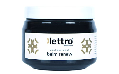 Lettro Balm Renew, balsamo restauratore di Lettro è un condizionatore e ravvivatore dei colori di qualitá per articoli in pelle, mobili, sedili dell'auto, scarpe e articoli di selleria 200ml (Nero)
