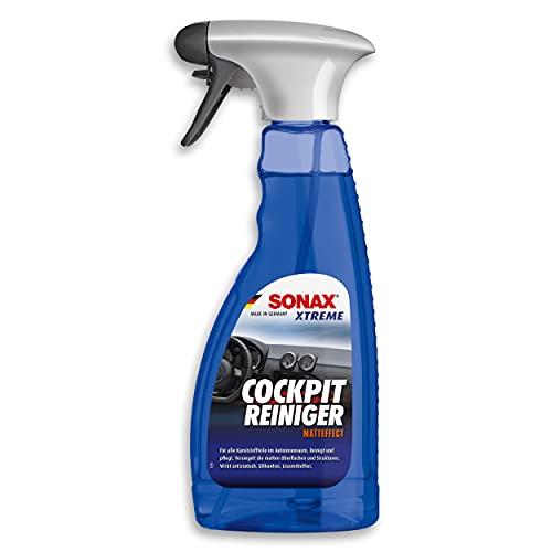 SONAX XTREME Limpiador de Cockpit efecto mate (500 ml) limpia salpicaderos y cuida las superficies plásticas en el interior del automóvil   N.° 02832410-544