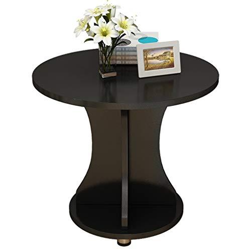 zlw-shop Table Basse Table à thé multifonctionnelle créative Table à thé Table de canapé Table de Salon Petit Support de Rangement de Table Ronde Multicolore en Option Table de Salon (Color : B)