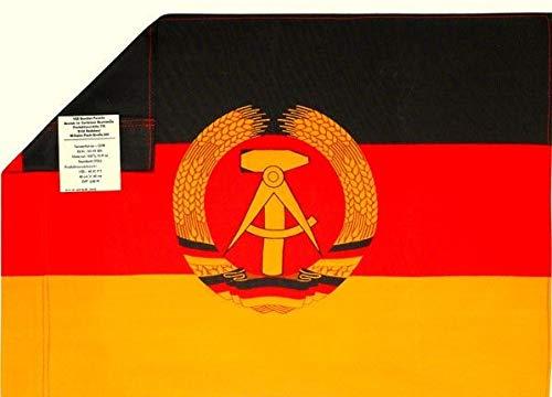 DDR Fahne 60 x 40 cm - DDR Geschenke - für Ostalgiker - Ossi Artikel
