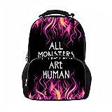 CZanLGD American Horror Story Student BookBag-Lightweight Backpack for Boys Gilrs Birthday Gift Horror Fans School Bag
