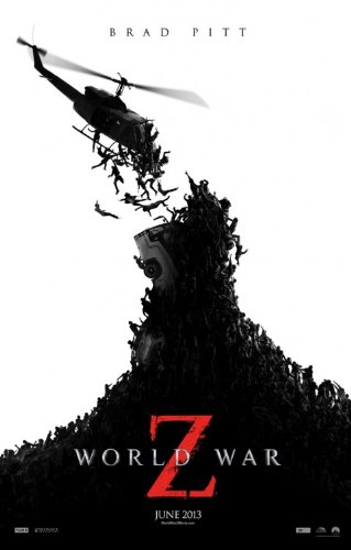 WORLD WAR Z 'A' 11x17 INCH PROMO MOVIE POSTER