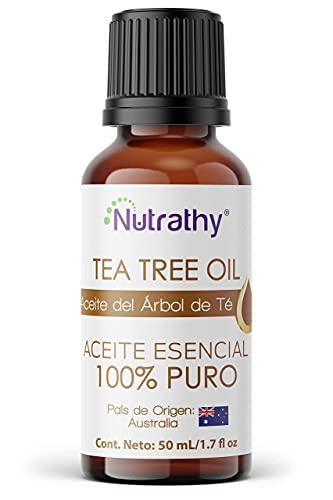 ACEITE ESENCIAL 50 ml DEL ÁRBOL DE TÉ (TEA TREE OIL) (Melaleuca alternifolia) 100% puro,