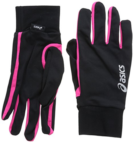ASICS Basic Handschuh Größe L Performance Black/Magenta