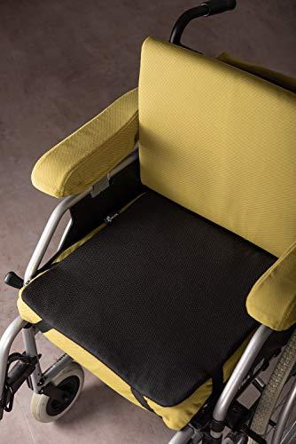 Auflage Inkontinenz im 2er Set, Schutz für Polstermöbel, Rollstuhlkissen, Autositze, 400ml Saugvolumen