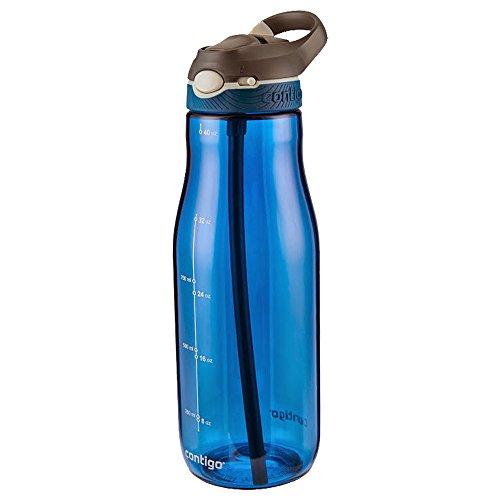 Contigo Ashland Bouteille hydratation Mixte Adulte, Monaco/Gris, 750 ML