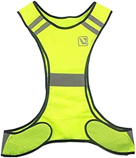 LQ Fluorescent Yellow Orange High Visibility Reflective Vest Safety Equipment Night Shift Night Run safety vests