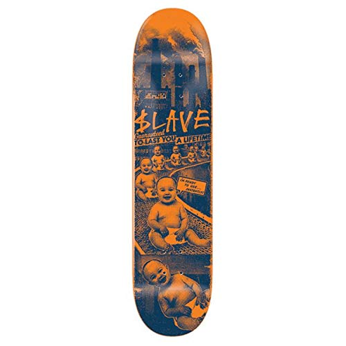 Slave Tablett Skate Toxic Babies Orange Blue 8.375